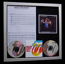 ROLLING STONES Honkey Tonk Women QUALITY CD FRAMED DISPLAY+EXPRESS GLOBAL SHIP