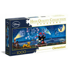 Clementoni Disney Multicolor Jigsaw Puzzle Mickey and Minnie Panorama (1000)