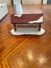 Dickens Village Sign
