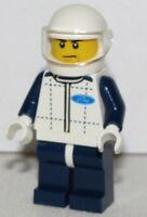 Lego New Minifigure Ford F150 Raptor Driver Race Car Driver Minifig
