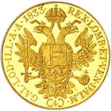 4 Ducat Austrian/Dutch Gold Coin (Varied Year, AU/BU)