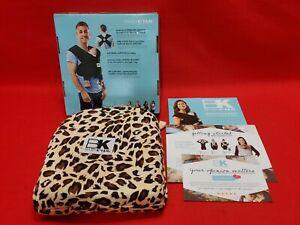 Baby K'tan Print Baby Wrap Carry Newborn up to 35 lbs, Leopard Love, Medium