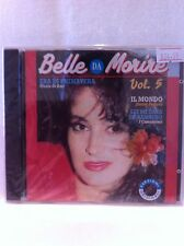 Italian Music Cd Belle Da Morire Volume 5 Volumen Classic Musica Italiana CD New