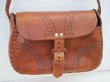 AUTHENTIQUE  sac à main  STYLE HIPPY  cuir    (T)BEG sublime bag  bag