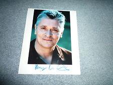 Henry Hübchen signed autographe 20x25 CM en personne