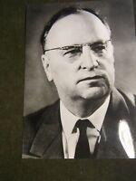 Berlin-DDR-Ostberlin Pressefoto Porträt von Kurt Hager SED 1960.Jahre