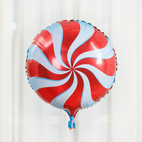 "18"" Red Foil Balloons Rainbow Windmill Design Wedding Birthday Party Decor"