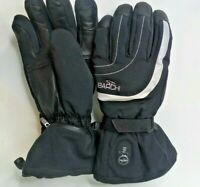 Barchi Heated Ski Snow Winter Gloves Size 11 XXL Mens Black Leather
