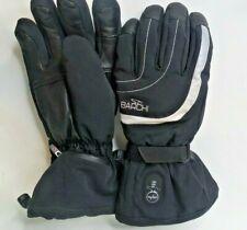 Barchi Heated Ski Snow Winter Gloves Size 11 XXL Mens Black Leather
