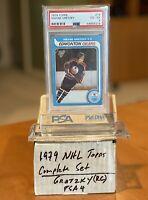 1979 Topps Wayne Gretzky PSA 4 ROOKIE #18 + Complete Hockey NHL Set (Howe Hull)