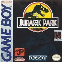 JURASSIC PARK GAME BOY COSMETIC WEAR