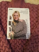 BNWOT Womens Hand Knitted Aran Chunky Jumper size 24-30 (can make to order)