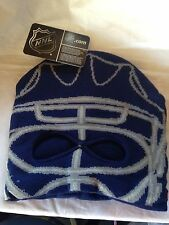 New York Rangers NEW OSFM Facemask Knit Hat Reebok NHL Hockey Fan Warm Winter NY