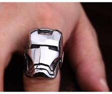 Iron Man Titanium Stainless Steel Ring