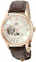 Orient Men's 'Sun and Moon Open Heart' Japanese Automatic RA-AS0003S10A