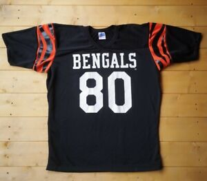 Rare Vintage 1980s Cincinnati Bengals NFL Jersey by Rawlings. Large.