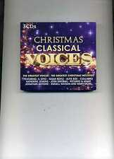 CHRISTMAS CLASSICAL VOICES JENKINS BOE BOYLE IL DIVO LANZA KAY - 3 CDS - NEW!!