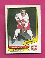 RARE 1976-77 OPC WHA # 57 COWBOYS JOHN MISZUK EX-MT CARD (INV# C3988)