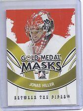 09-10 2009-10 BETWEEN THE PIPES JONAS HILLER GOLD MEDAL MASKS GMM-04 DUCKS