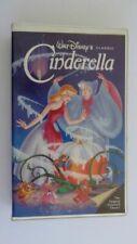 WALT DISNEY CLASSIC  CINDERELLA VHS  410