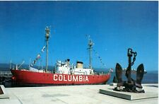 Lightship Postcard Columbia Astoria Oregon