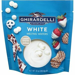 Ghirardelli White Vanilla Flavored Melting Wafers