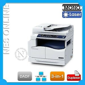 Fuji Xerox S2010 A3 Mono Laser Network MFP Printer+DADF *RFB* upgrade to S2520