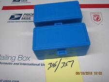 Dillon Precision 2 Pack Ammo Box 50 Round 38/357Mag Ammunition Storage