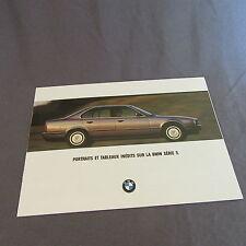 260C Catalogue BMW Série 5 1994
