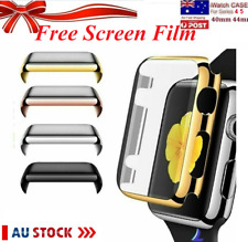 FULL Apple Watch Series 4 5 6 iWatch 40 44mm Perfect Fit Screen Protector Case
