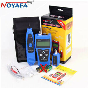 LCD Network Wire Cable Fault Locator Detector Tester Finder Coacial LAN USB
