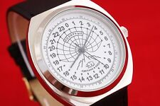 Polar Russian scientific watch w 24 hours movement Rocket 2623 PAKETA white