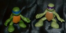Donatello & Leonardo Teenage Mutant Ninja Turtles Action Figures Toys Figurines