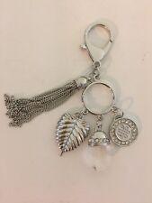 Feng Shui Bodhi Leaf Keychain Amulet USA Seller