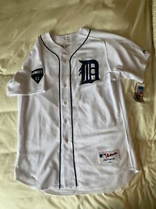 MAJESTIC AUTHENTIC 48 JUSTIN VERLANDER DETROIT TIGERS SPARKY NWT JERSEY