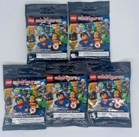 LEGO Minifigures DC Super Heroes Series 71026 - Lot of 5 **SHIPS NOW