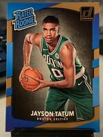 2017 Panini Donruss JASON TATUM Rookie Basketball Card #198 RATED ROOKIE PSA❓