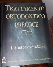 trattamento ortodontico precoce-j.daniel subtelny-scienza e tecnica dentistica