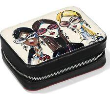 NWT Brighton UPTOWN GIRLS  Leather Travel Jewelry Case Zip MSRP $75