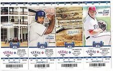 2014 TEXAS RANGERS PICK YOUR GAME DARVISH 2ND HALF TICKET STUB MANY DATES