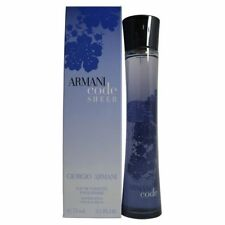 ARMANI CODE SHEER 2.5 OZ/ 75 ML EAU DE TOILETTE SPRAY FOR WOMEN SEALED