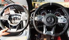 2019 MERCEDES AMG C63 E63 SLS S63 CLS63 GLC63 CARBON FIBER PIANO STEERING WHEEL