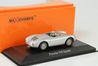 1955 Porsche 550 Spyder silber 1:43 Maxichamps  Minichamps