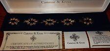 Jacqueline Kennedy Simulated Sapphire Rhinestone Bracelet Camrose & Kross - New