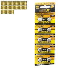 500 unids. AG3 SR41SW LR736 GP192 SR41 1.5vv Alcalino Pila de botón baterías