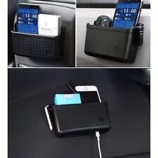 Car Cell Phone Black Car Holder Storage box Charger Pocket Organizer Box Holder