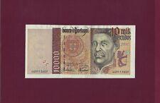 PORTUGAL Portuguese 10000 Escudos  1998 P-191 UNC