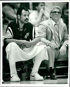 1983 John Lucas San Antonio Spurs Basketball Original News Service Photo