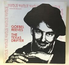 Goebel Reeves The Texas Drifter Gl 6010 Lp Record Excellent!