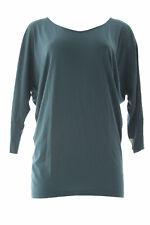 VELVET by Graham & Spencer Women'S Teal Smocked Back Dolman Sleeve Top S NEW
